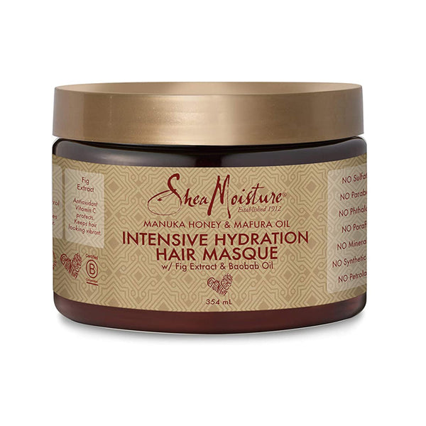 Shea Moisture Manuka Honey And Mafura Oil Intensive Hydration Hair Masque 340 g- AQ Online