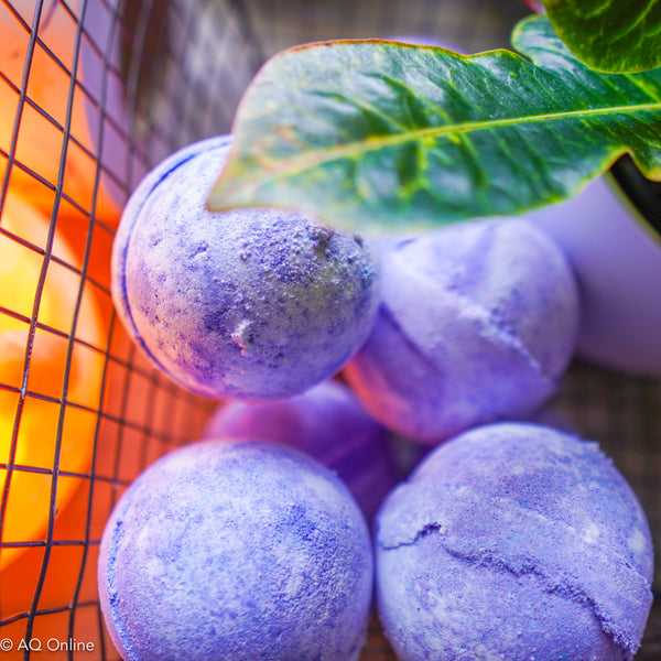 So Buttery Shea Infused Fig & Casis Bath Bomb- AQ Online