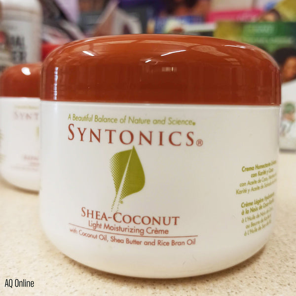 Syntonics Shea Coconut Light Moisturising Cream- AQ Online