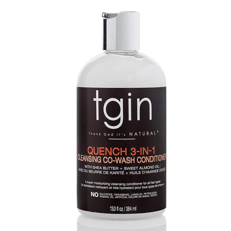 TGIN  Quench 3-In-1 Co-Wash Conditioner And Detangler 13 oz - AQ Online