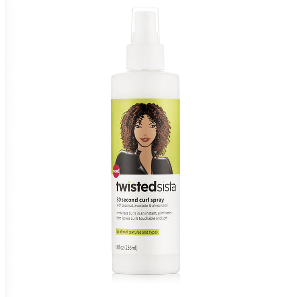 Twisted Sista 30 Second Curl Spray 236ml - AQ Online