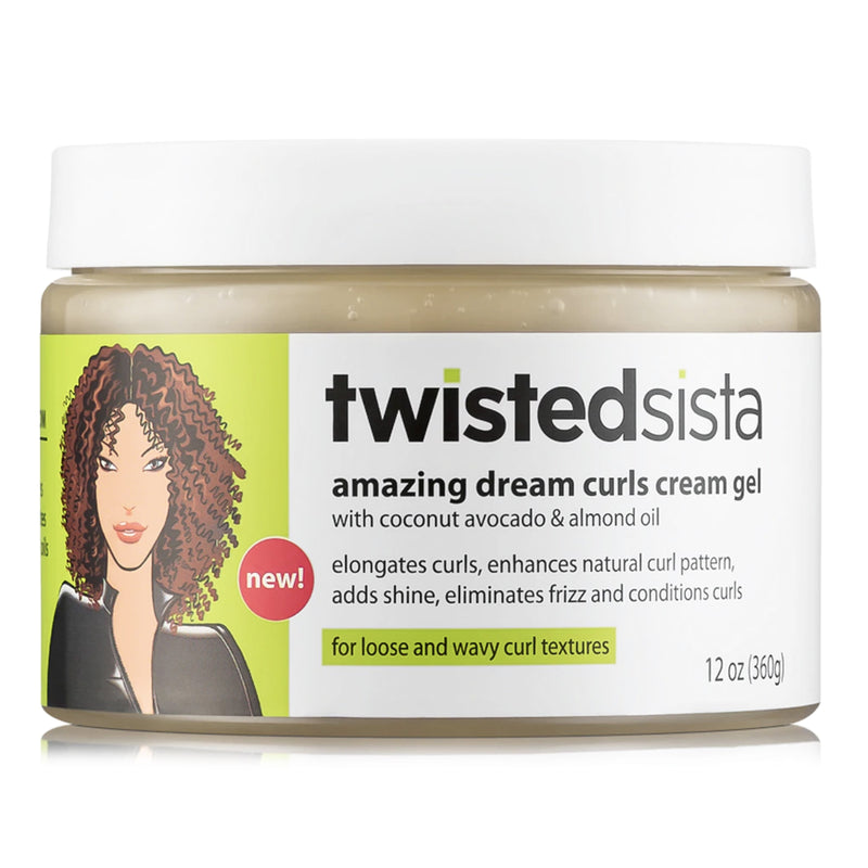 Twisted Sista Amazing Dream Curl Gel 354ml- AQ Online