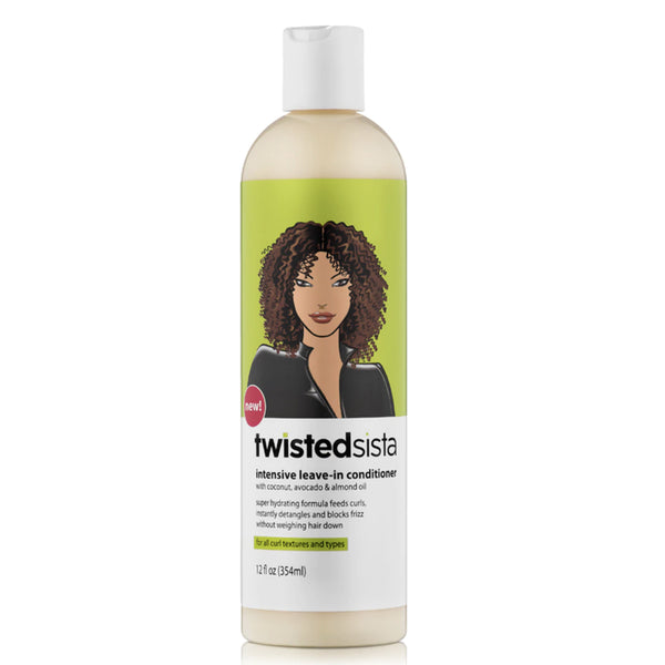 Twisted Sista Intensive Leave-In Conditioner 12 oz - AQ Online