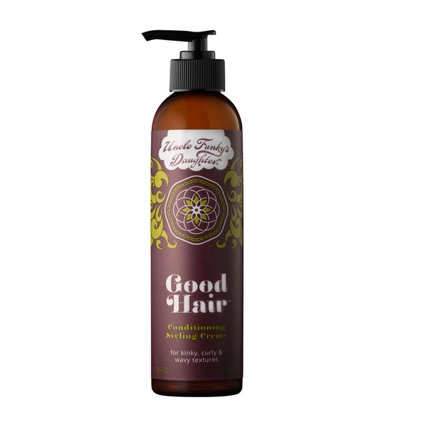 Uncle Funky's Daughter Good Hair Conditioning Styling Creme 8 oz