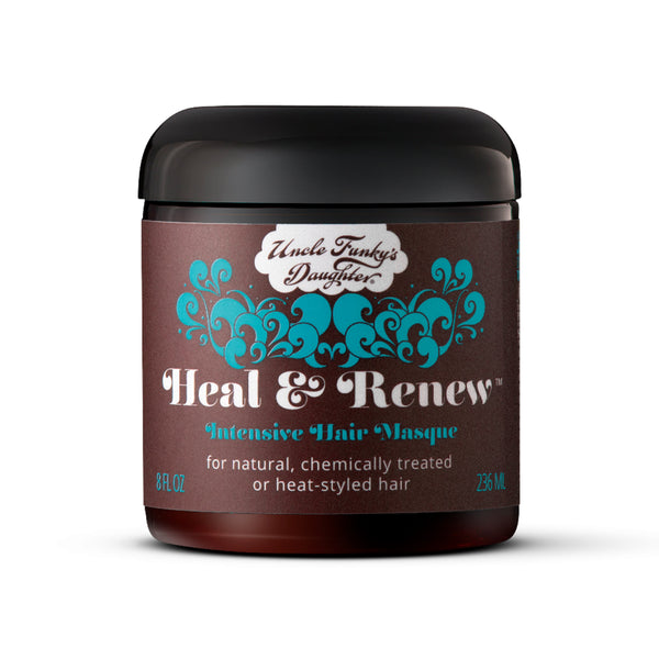 Uncle Funky's Daughter Heal & Renew Intensive Hair Masque 8 oz- AQ Online