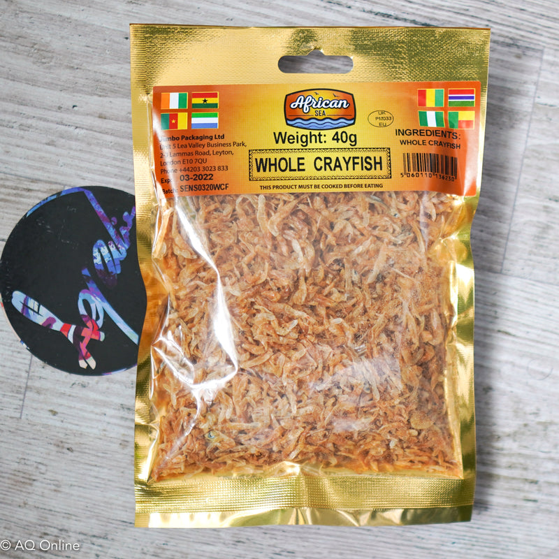 African Dried Whole Crayfish- AQ Online