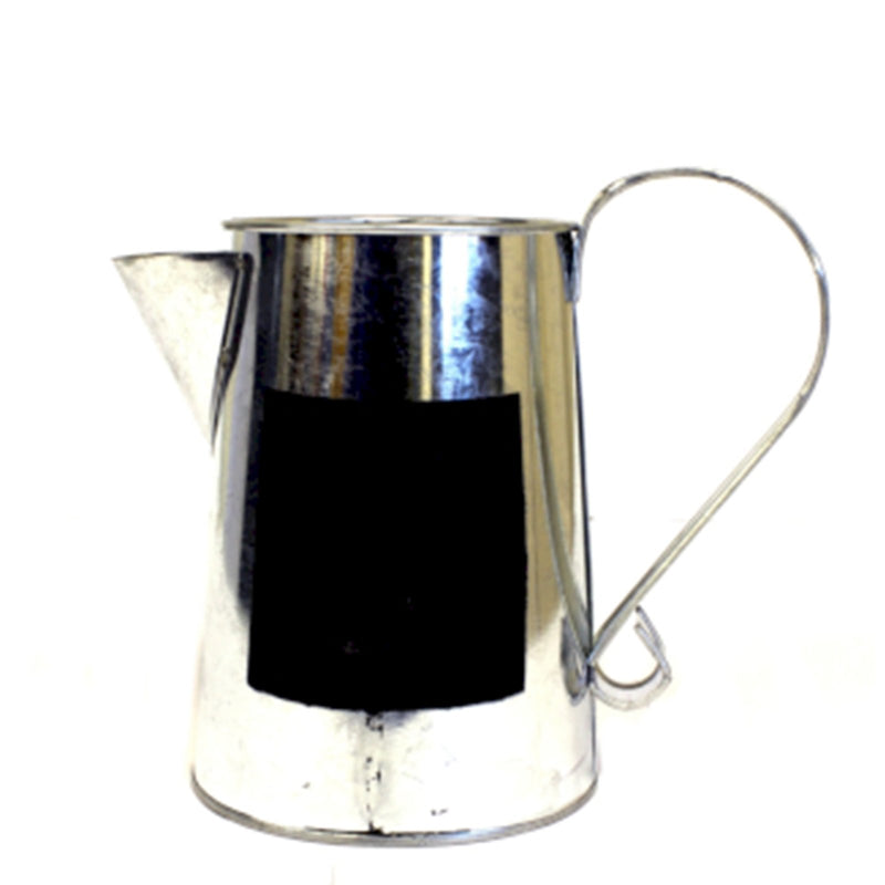 Large Zinc Watering Can with Chalk Board - AQ Online