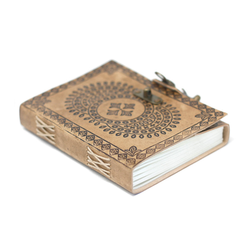 Mandala Leather Notebook - AQ Online