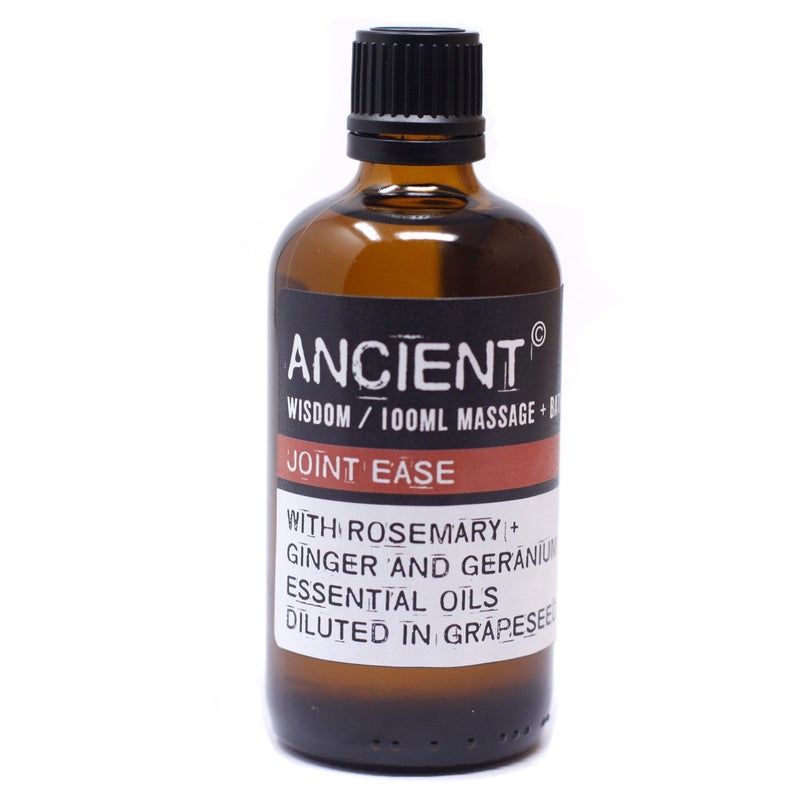Muscle Easing Massage Oil in Rosemary & Ginger 100ml - AQ Online