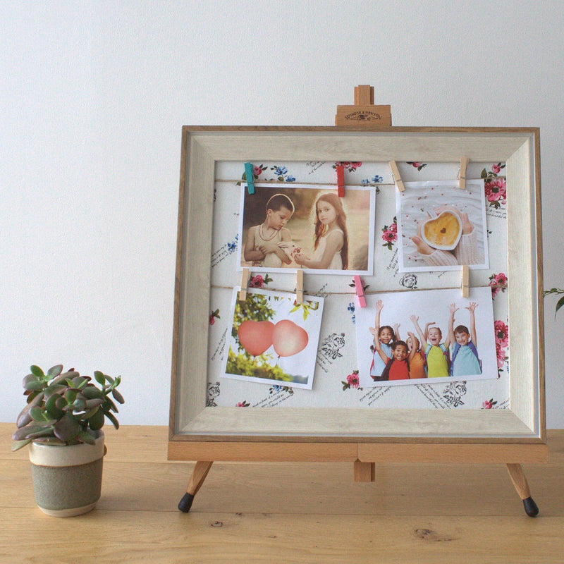 Small Floral DIY Peg Photo Frame - Memories & Vision Boards - AQ Online