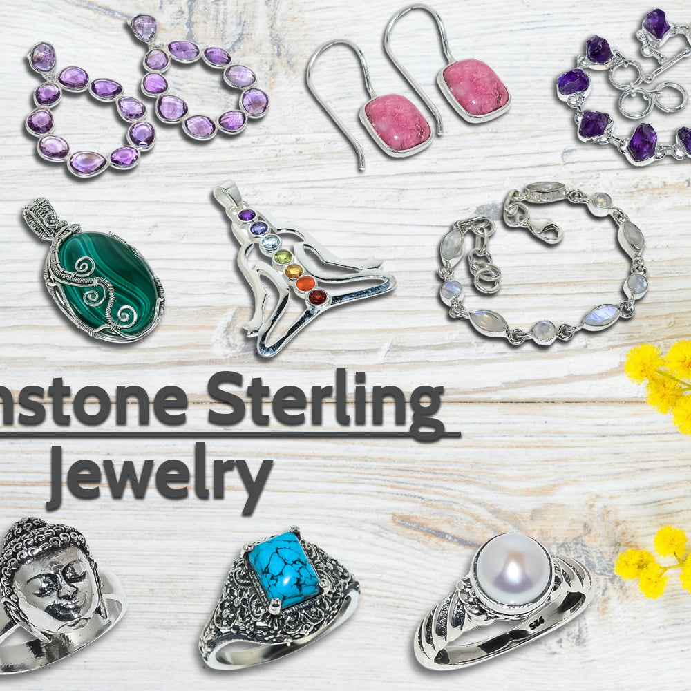 Enlight yourself with Blings of Sterling Silver Jewelry