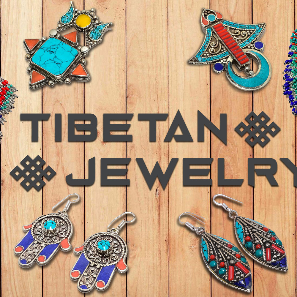 Ethnic Handmade Tibetan Gemstone Jewelry for a Unique-Antique Look n Style