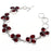 Garnet Gemstone Handmade Ethnic Jewelry Bracelet 7-8 Inches RB104