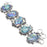 Abalone Shell Gemstone Handmade Jewelry Bracelet 7-8 Inches RB13