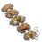 Rainforest Jasper Gemstone Ethnic Jewelry Bracelet 7-8 Inches RB1