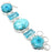 Turquoise Jewelry Bracelet 7-8 Inches RB27