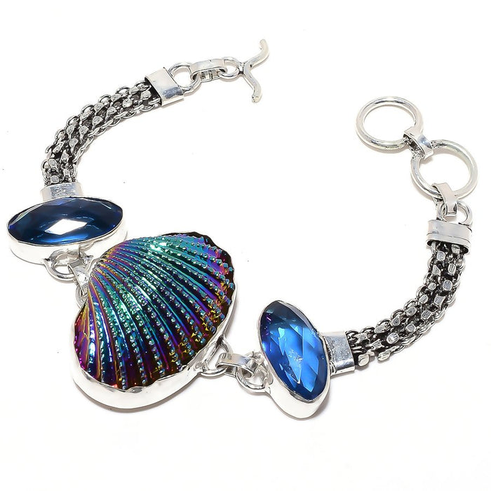 Titanium Oyester Shell Jewelry Bracelet 7-8 Inches RB81