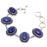 Lapis Lazuli Gemstone Handmade Jewelry Bracelet 7-8 Inches RB99