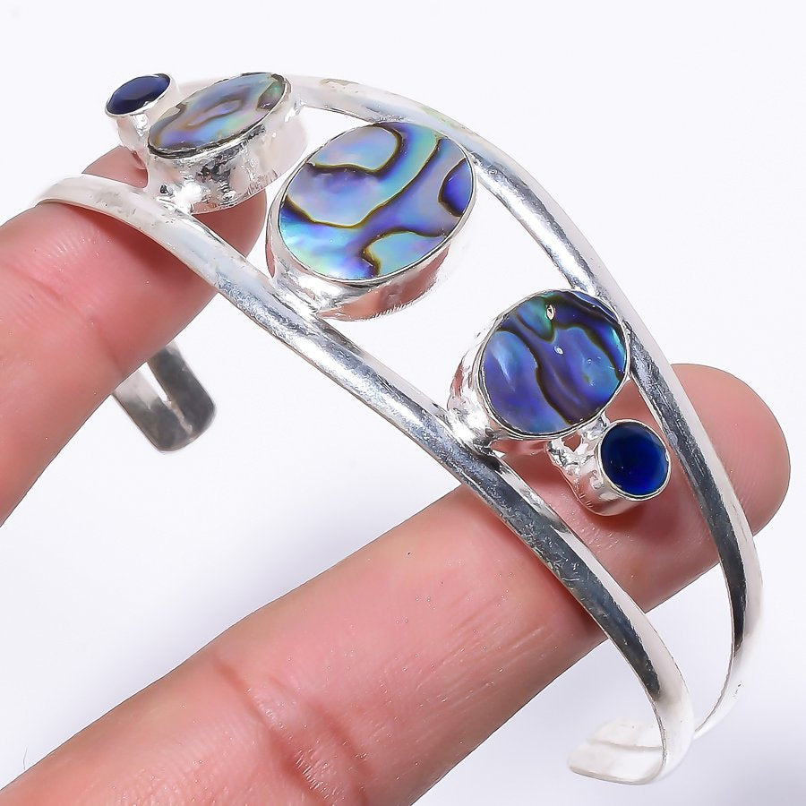 Abalone Shell Jewelry Cuff Bracelet Adjustable RC140