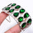 Chrome Diopside Jewelry Cuff Bracelet Adjustable RC155