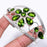 Peridot Gemstone Jewelry Cuff Bracelet Adjustable RC160