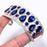 Blue Sapphire Ethnic Jewelry Cuff Bracelet Adjustable RC168