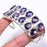 Iolite Gemstone Jewelry Cuff Bracelet Adjustable RC177