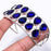 Blue Sapphire Ethnic Jewelry Cuff Bracelet Adjustable RC218