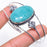 Amazonite Gemstone Jewelry Cuff Bracelet Adjustable RC293