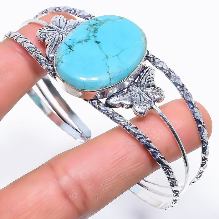 Santa Rosa Turquoise Jewelry Cuff Bracelet Adjustable RC530
