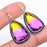 Ametrine Gemstone Handmade Jewelry Earring 1.8 Inches RE1046