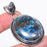 Azurite Gemstone Handmade Ethnic Jewelry Pendant 2.1 Inches RP1