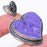 Heart - Charoite Gemstone Handmade Jewelry Pendant 1.9 Inches RP35