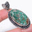 Cuprite Chrysocolla Gemstone Jewelry Pendant 2.3 Inches RP57