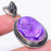 Purple Agate Druzy Gemstone Ethnic Jewelry Pendant 2.0 Inches RP83