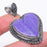 Heart - Charoite Gemstone Handmade Jewelry Pendant 2.0 Inches RP85