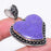 Heart - Charoite Gemstone Handmade Jewelry Pendant 2.0 Inches RP88