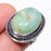 Smithsonite Gemstone Handmade Jewelry Ring Size 6 RR105
