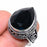 Black Onyx Gemstone Vintage Jewelry Ring Size 7.5 RR1416
