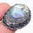 Abalone Shell Gemstone Handmade Jewelry Ring Size 8 RR158