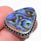 Abalone Shell Gemstone Handmade Jewelry Ring Size 6 RR187