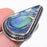 Abalone Shell Gemstone Handmade Jewelry Ring Size 7 RR242