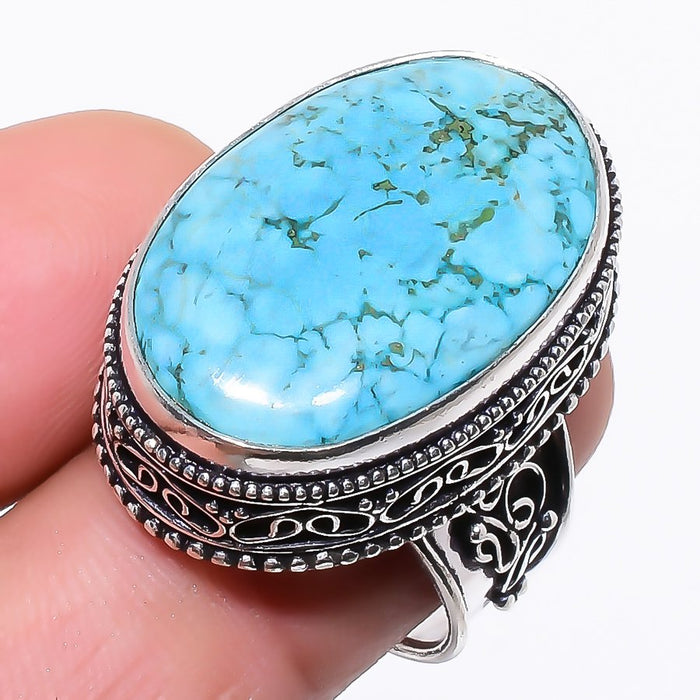 Santa Rosa Turquoise Vintage Jewelry Ring Size 7 RR68