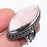 Scolecite Gemstone Vintage Jewelry Ring Size 7 RR74