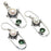 River Pearl, Peridot Gemstone Handmade Jewelry Set RS353