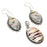Peanut Wood Jasper Gemstone Handmade Jewelry Set RS89