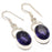 Iolite Gemstone Handmade Ethnic Jewelry Earring 1.6 Inches RJ3011