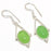Green Chalcedony Gemstone Ethnic Jewelry Earring 2.0 Inches RJ3072