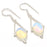 Milky Opal Gemstone Handmade Jewelry Earring 2.0 Inches RJ3082
