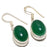 Green Onyx Gemstone Handmade Jewelry Earring 1.3 Inches RJ3129